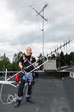Antenniurakoitsija Petteri Yliniemi